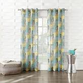 Asstd National Brand Gonzales Grommet-Top Sheer Curtain Panel
