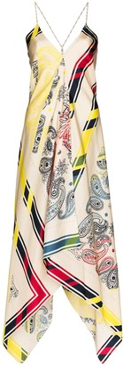 Golden Goose Sleeveless Blanket Bandana Dress