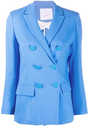 Giada Benincasa Double-Breasted Wool Blazer