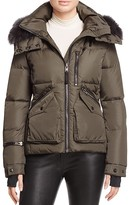 SAM. Jetset Fur-Trim Down Coat