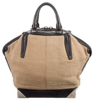 Alexander Wang Leather-Trimmed Canvas Emile Bag