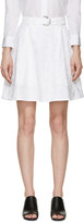 Kenzo White Moonmap Miniskirt
