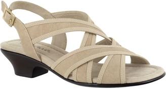 Easy Street Shoes Adjustable Block Heel Sandals - Viola
