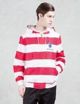 Joyrich Usa Striped Playboy Hooded Jacket
