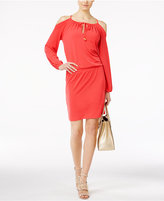 MICHAEL Michael Kors Cold-Shoulder Dress