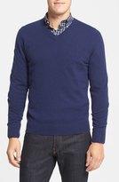 Nordstrom Cashmere V-Neck Sweater (Big)