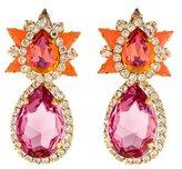 Shourouk Crystal Drop Earrings