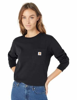 Carhartt Women's Wk126 Workwear Pocket Long Sleeve T Shirt