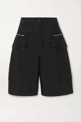 3.1 Phillip Lim Cotton-blend Poplin Cargo Shorts - Black