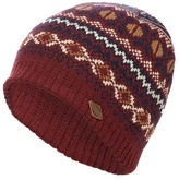 Mantaray Red Fair Isle Beanie Hat