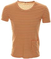 Antony Morato Striped T Shirt Orange