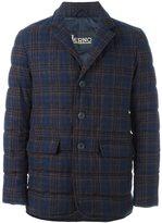 Herno checked blazer - men - Polyamide/Polyester/Wool - 54