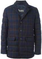 Herno checked blazer
