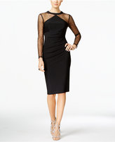 INC International Concepts Embellished Illusion Sheath Dress, Only at Macy's