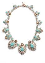 Marchesa Women's Bright Paradise Drama Collar Necklace