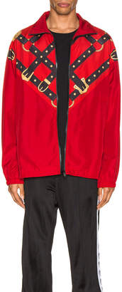 Versace Windbreaker in Red | FWRD