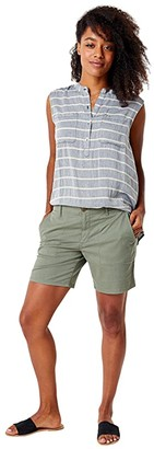 Carve Designs Kingston Shorts (Moss) Women's Shorts
