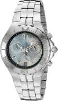 Technomarine Women's 'Sea Pearl' Swiss Quartz Stainless Steel Casual Watch