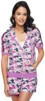Juicy Couture Micro Terry Seaside Floral Hoodie