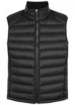 Hugo Black Quilted Shell Gilet