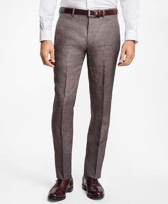 Brooks Brothers Regent Fit Linen Trousers
