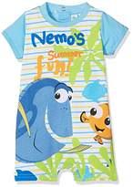 Disney Baby Boys' Nemo Summer Fun Romper