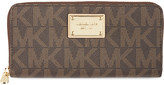 MICHAEL Michael Kors Jet Set monogram grainy wallet