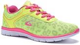 Neon Green & Fuchsia Dream Seek Contrast Athletic Shoe - Women