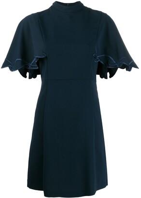 See by Chloe Flutter Sleeve Mini Dress