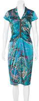 Etro Silk Printed Dress