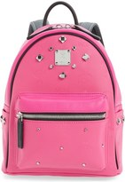 MCM 'Mini Stark Odeon' Studded Backpack