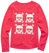 Arizona Long-Sleeve Graphic Tee - Girls 7-16 and Plus