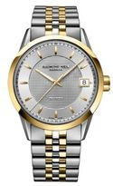 Raymond Weil Freelancer Stainless Steel and Yellow Gold PVD Multi-Link Automatic Chronograph