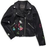 Blank NYC Girl's Flower Motor Jacket