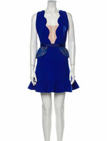 Thumbnail for your product : Three floor Colorblock Pattern Mini Dress Blue