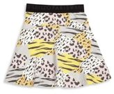 Kenzo Toddler's, Little Girl's & Girl's Jungle Betula Leopard-Printed Jersey Skirt
