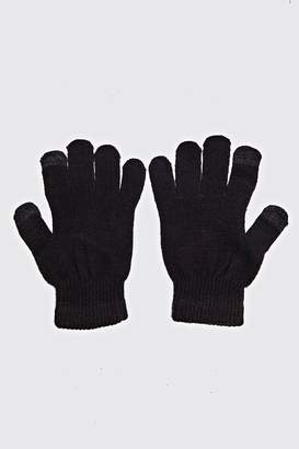 boohoo Touch Screen Gloves