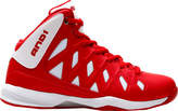 AND 1 Boys' Unbreakable Basketball Shoe - Bright White/F1 Red/Bright White Performance Shoes