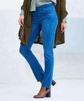 Medium Blue Wash Straight Leg Jeans - Plus