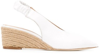 Paloma Barceló Slingback Wedge Heel Pumps