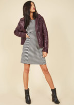 Moto You Than Meets the Eye Jacket in Raisin in XL