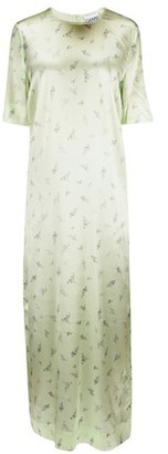 Ganni Silk maxi dress