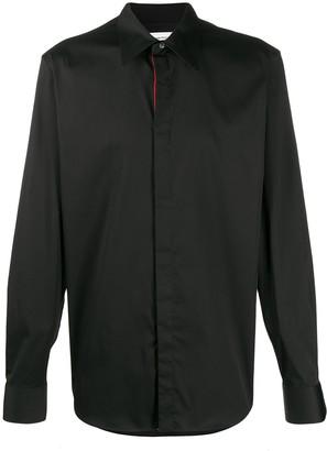 Alexander McQueen Pointed Collar Shirt