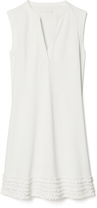 Tory Sport Ruffle Tunic Tennis Dress
