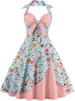 Babyonlinedress Vintage 1950s Audrey Hepburn Dress Retro Style Cocktail Gown