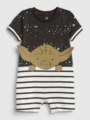 Star Wars babyGap | Yoda Shorty One-Piece