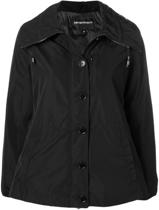 Emporio Armani Hooded Zip-Up Jacket