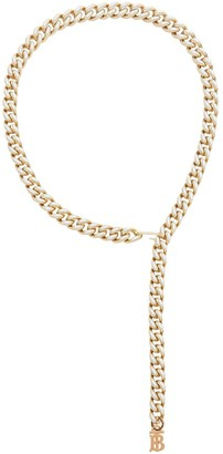 Burberry Pearl Detail Chain Belt