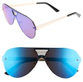 Leith Women's The Grill 58Mm Sunglasses - Blue