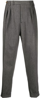 Brunello Cucinelli Tapered Leg Tailored Trousers